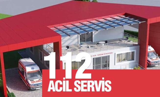 112 acil servis istasyonlarına temizlik personeli